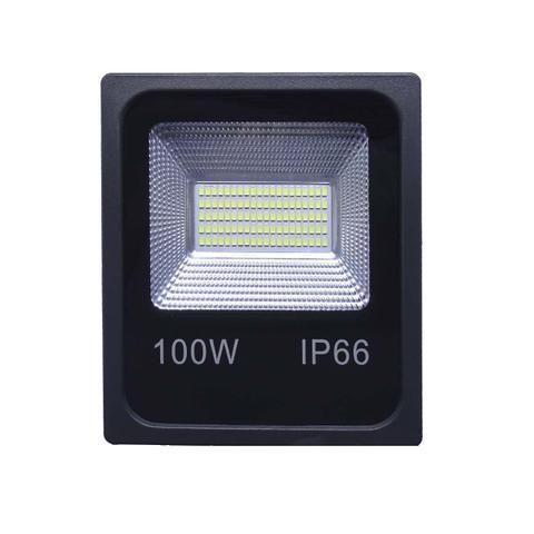 Imagem de REFLETOR HOLOFOTE LED SMD 100W 6000K (BRANCO FRIO) 100a240V IP66