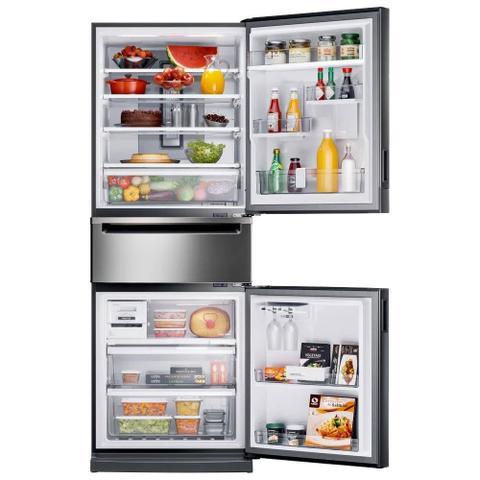 Imagem de Refrigerador 419 Litros Brastemp 2 Portas Frost Free Inverse Bry59bkana