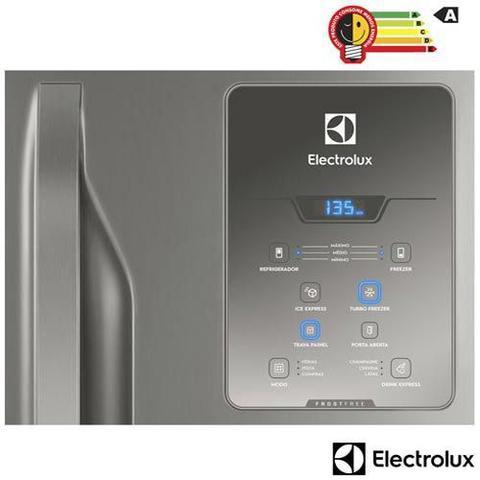 Imagem de Refrigerador Bottom Freezer Electrolux de 02 Portas Frost Free com 598 Litros Painel Eletrônico Inox - DB84X