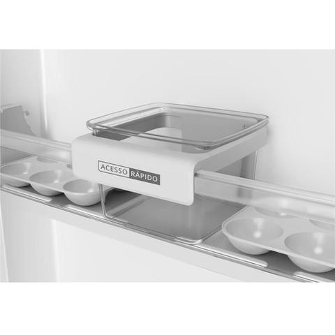 Imagem de Refrigerador Brastemp BRM44HK Frost Free com Gavetão de Legumes Fresh Zone Inox - 375L