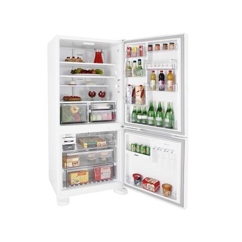 Imagem de Refrigerador Brastemp Frost Free Inverse 573 Litros com Smart Bar Branca BRE80AB  127 Volts