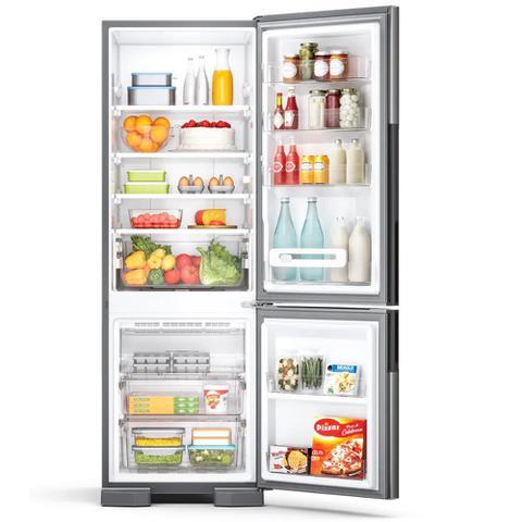 Imagem de Refrigerador Consul Frost Free Duplex 397 Litros Evox com Freezer Embaixo CRE44AK  220 Volts