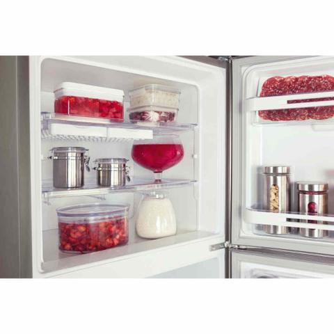 Imagem de Refrigerador Electrolux 475L Duplex Cycle DeFrost Inox 127V DC51X