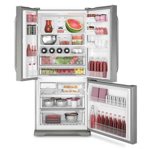 Imagem de Refrigerador Electrolux DM84X Multidoor 3 Portas Frost Free com Ice Twister 579 Litros - Inox
