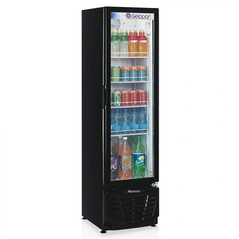 Geladeira/refrigerador 228 Litros 1 Portas Preto - Gelopar - 220v - Grba230pva