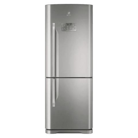 Imagem de Refrigerador Frost Free Inox 454L Bottom Freezer Electrolux (DB53X) - 127V
