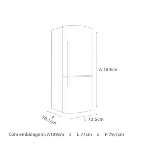 Imagem de Refrigerador / Geladeira Brastemp Frost Free Inverse 443L BRE57AK