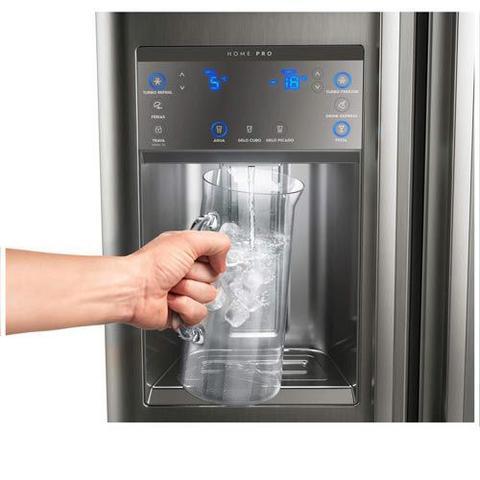 Imagem de Refrigerador Multidoor Electrolux Home Pro de 03 Portas Frost Free com 538 Litros e Tecnologia Inverter, Inox - DM86X