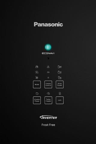 Imagem de Refrigerador Panasonic 425l Frost Free Bb53gv3bb Preto
