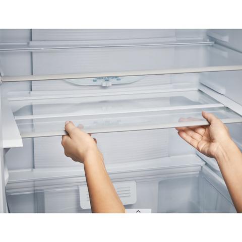 Imagem de Refrigerador Panasonic BB53 Inverter Bottom Freezer 425L 2 Portas Aço Escovado Frost Free 220V NR-BB53PV3XB