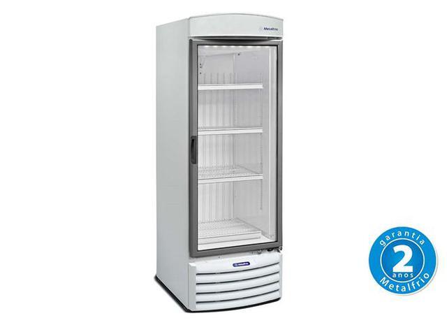 Imagem de Refrigerador Vertical 1 Porta Vidro 572 L 220 V - VB50R - Metalfrio - 0MT 051