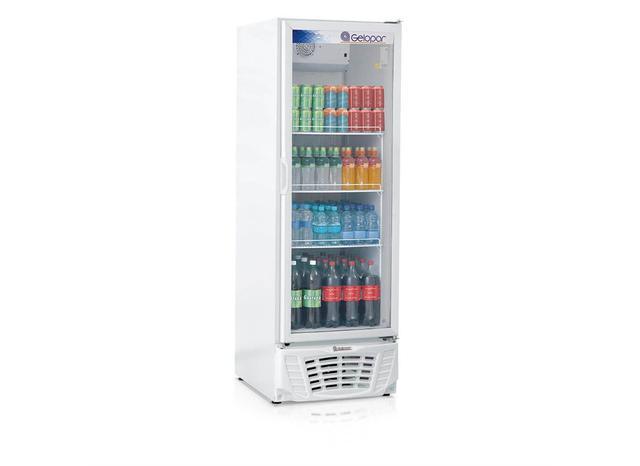 Imagem de Refrigerador Vertical 1 Porta Vidro 578 L 220 V Gelopar - 0GP 036