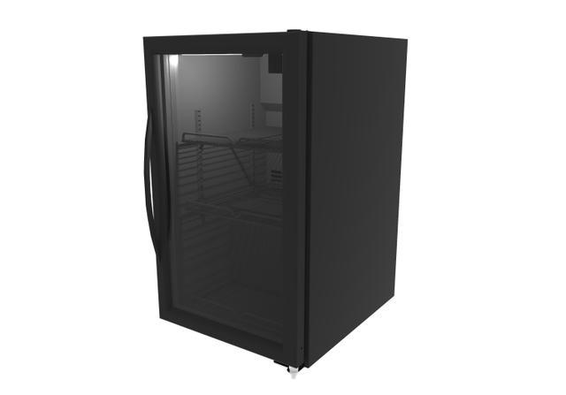 Imagem de Refrigerador vertical 120l porta vidro