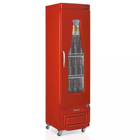 Geladeira/refrigerador 228 Litros 1 Portas Vermelho - Gelopar - 110v - Grba230vm