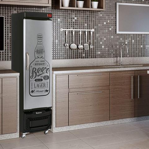 Imagem de Refrigerador Vertical Cervejeira 220v Frost Free Gelopar Preto