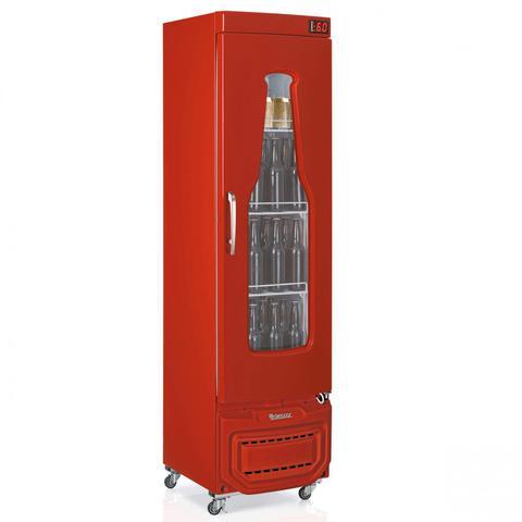 Geladeira/refrigerador 228 Litros 1 Portas Vermelho - Gelopar - 220v - Grba-230evvm