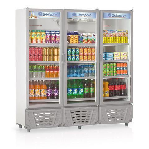 Imagem de Refrigerador vertical visa cooler 110v grvc1450 - gelopar