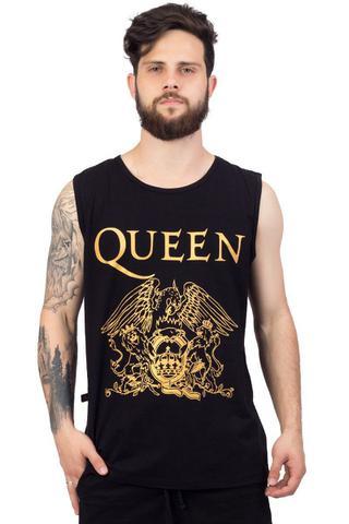 Imagem de Regata Queen Logo Preto