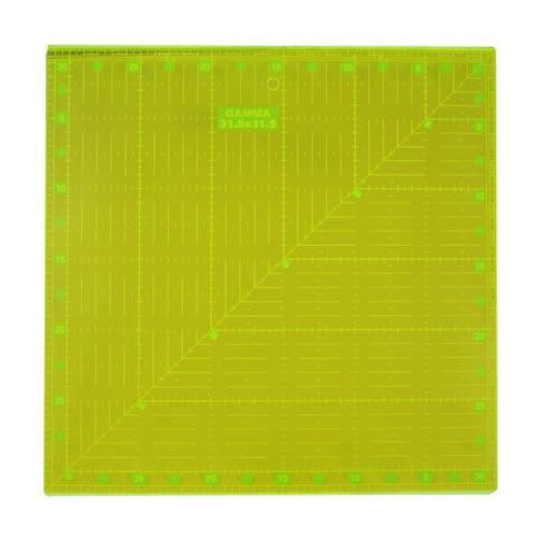 Imagem de Régua Quadrada Fluorescente para Patchwork