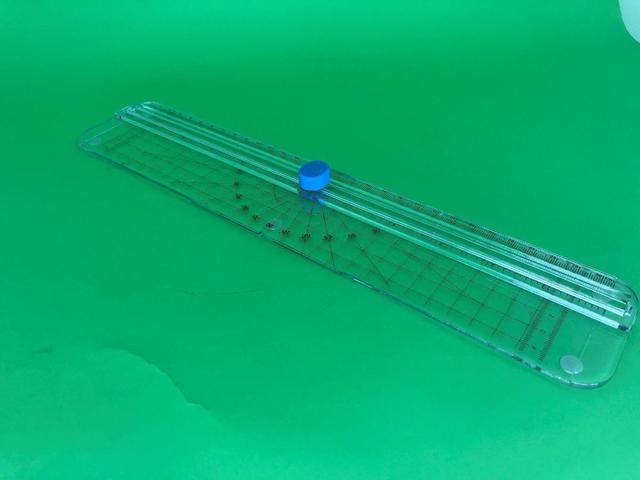 Imagem de Régua Refiladora 2 X 1 guilhotina 3 folhas 75g 2 EM 1