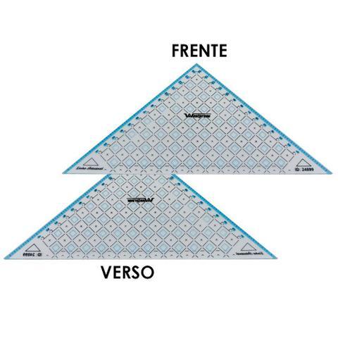Imagem de Régua Triangular para Patchwork