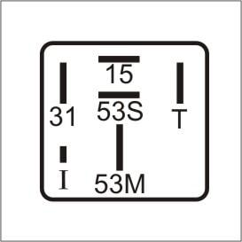 Imagem de Relé Temporizador do Limpador de Pára-Brisa VW / Ford / Volare / Valmet - DNI 0317