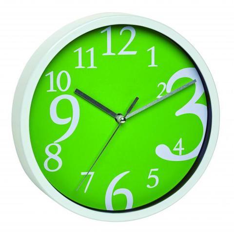 Imagem de Relógio Alemão Números grandes Design Verde