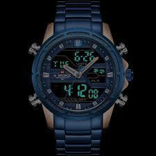 Imagem de Relógio Analógico Digital Naviforce 9138M