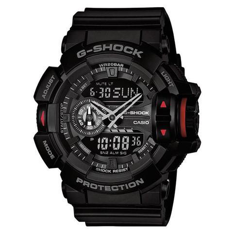 Relógio Casio Ana-Digi Masculino G-Shock - GA-400-1BDR - Relógio ... 48c268da95