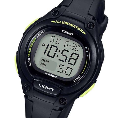 ecf57560ed4 Relógio Casio Bateria 10 ANOS Feminino LW-203-1BVDF - Relógio ...