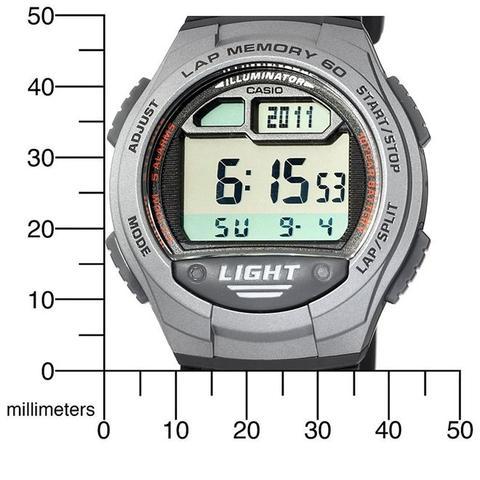 18c44cd07 Relógio Casio Digital Masculino W-734-1AVDF - Relógio Masculino ...