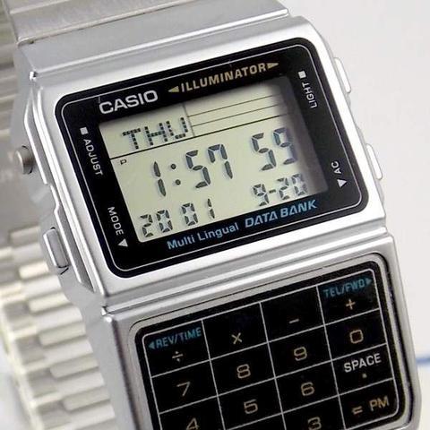 Imagem de Relógio Casio Masculino Data Bank Calculadora Dbc-611-1df