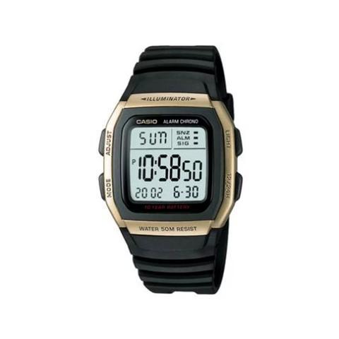 Imagem de Relógio Casio Masculino Preto/Dourado W96H9Avdfu