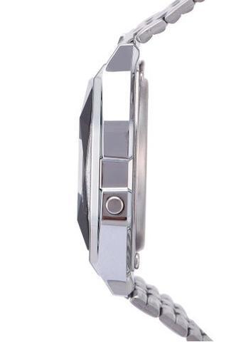1dc590edf85 Relógio Casio Vintage Diamonds Prata Unissex A159WAD-1DF - Relógio ...