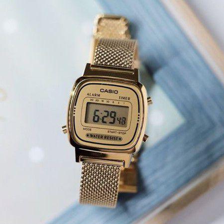 c2337e37268 Relógio Casio Vintage Feminino LA670WEMY-9DF - Relógio Feminino ...