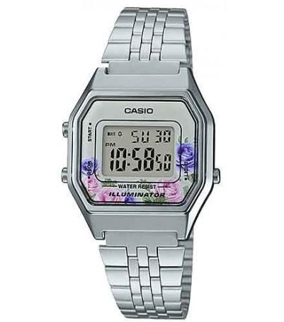 64d05f029e2 Relógio casio vintage flores la680wa-4cdf - Relógio Feminino ...