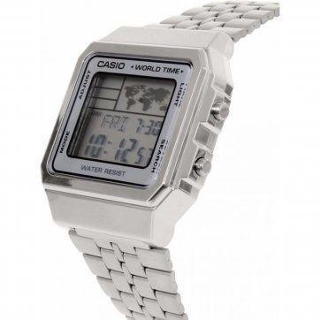f087e21272c Relógio Casio Vintage World Time Unissex A500WA-7DF - Relógio ...