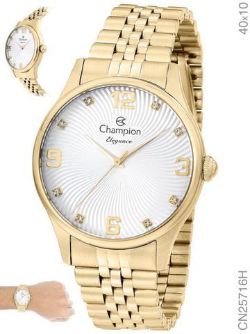 Imagem de Relógio Champion Elegance CN25716H Quartz Dourado