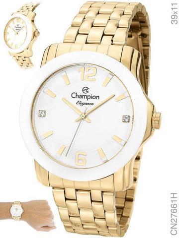 Imagem de Relógio Champion Elegance CN27661H Quartz Dourado
