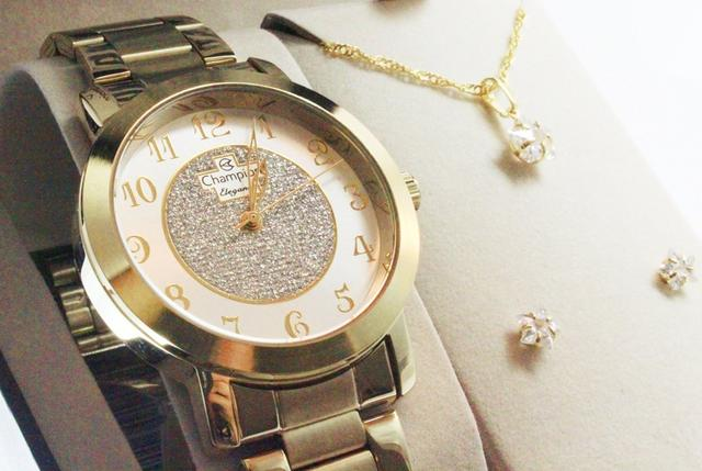 Imagem de Relógio Champion Elegance Feminino CN26466W