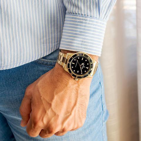 Imagem de Relógio Champion Masculino Dourado CA31266U