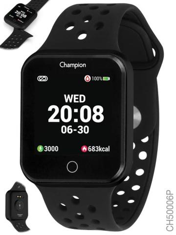Smartwatch Champion Preto Ch50006