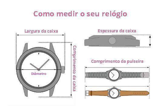 Imagem de Relógio Champion Social CH22788B Quartz Dourado Pulseira de Couro Preto