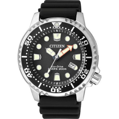 ccafcb8c2aa Imagem de Relógio Citizen Eco drive Promaster Diver black BN0150-28E