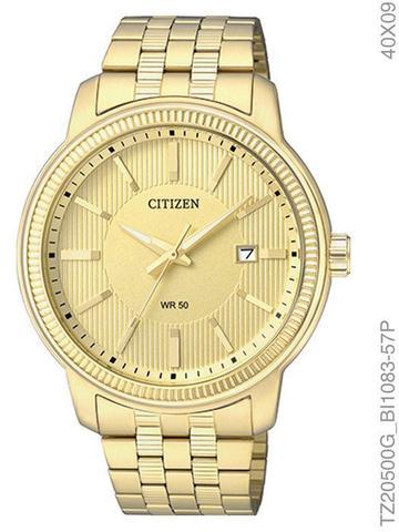 Imagem de Relógio Citizen Quartz TZ20500G/BI1083-57P Pulseira de Aço Dourado