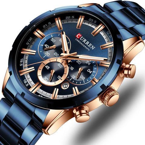 Imagem de Relógio Curren 8355 Azul