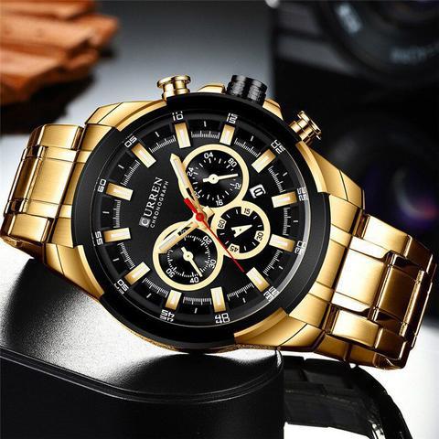 Imagem de Relógio Curren 8361 Dourado