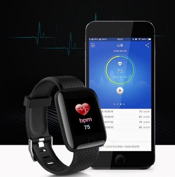 Imagem de Relógio D13 Smartband  Smartwatch Android, Notificações  Bluetooth e notificações