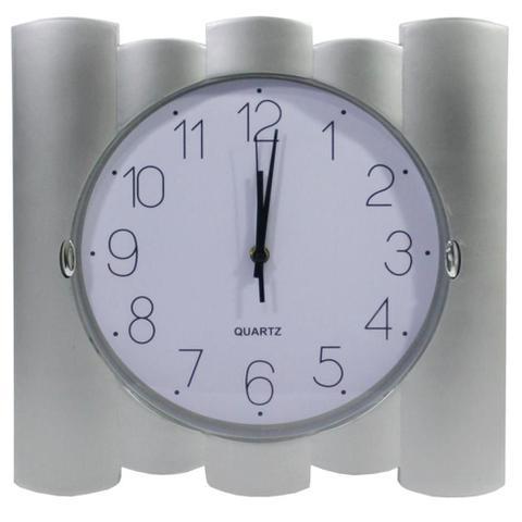 Imagem de Relógio de parede quadrado quartz 35cm - centro oeste