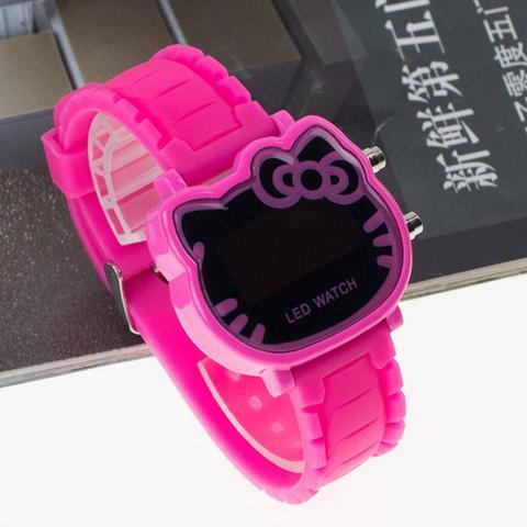 Imagem de Relógio de Pulso Hello Kitty LED Pink